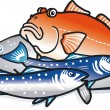 Fishes — Stock Vector #2943153