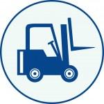 Forklift — Stock Vector #2943182