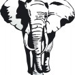 Elephant — Vector de stock #2943368