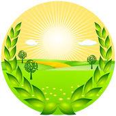 Farming award — Stock Vector