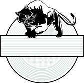 Puma sign — Stock Vector