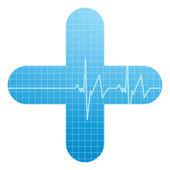 Lékařské vyšetření — Stock vektor