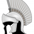 Royalty-Free Stock Vector Image: Roman helmet