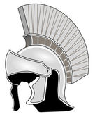 Roman helmet — Stock Vector
