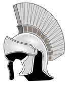Romersk hjälm — Stockvektor