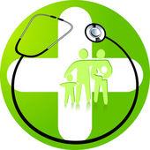 Green medicine — Stock Vector