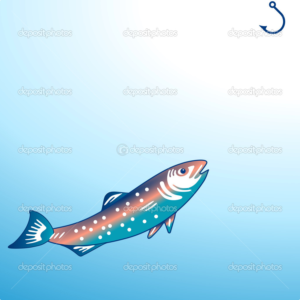 Angling/fishing — Stock Vector #3334026