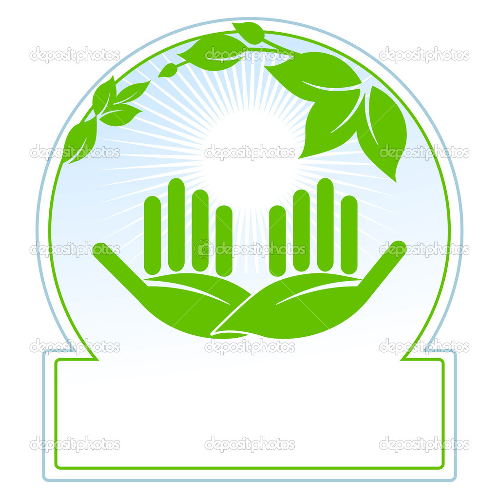 Green nature conservation — Stock Vector #3381922