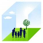 proteção da natureza de criança — Vetorial Stock