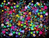 Exploze konfety — Stock vektor