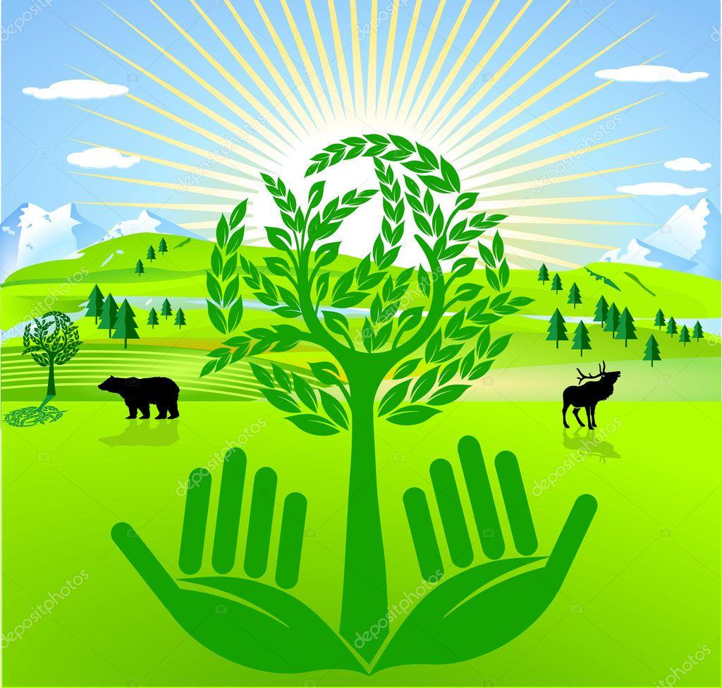 Preventive Environmental Protection Stock Vector