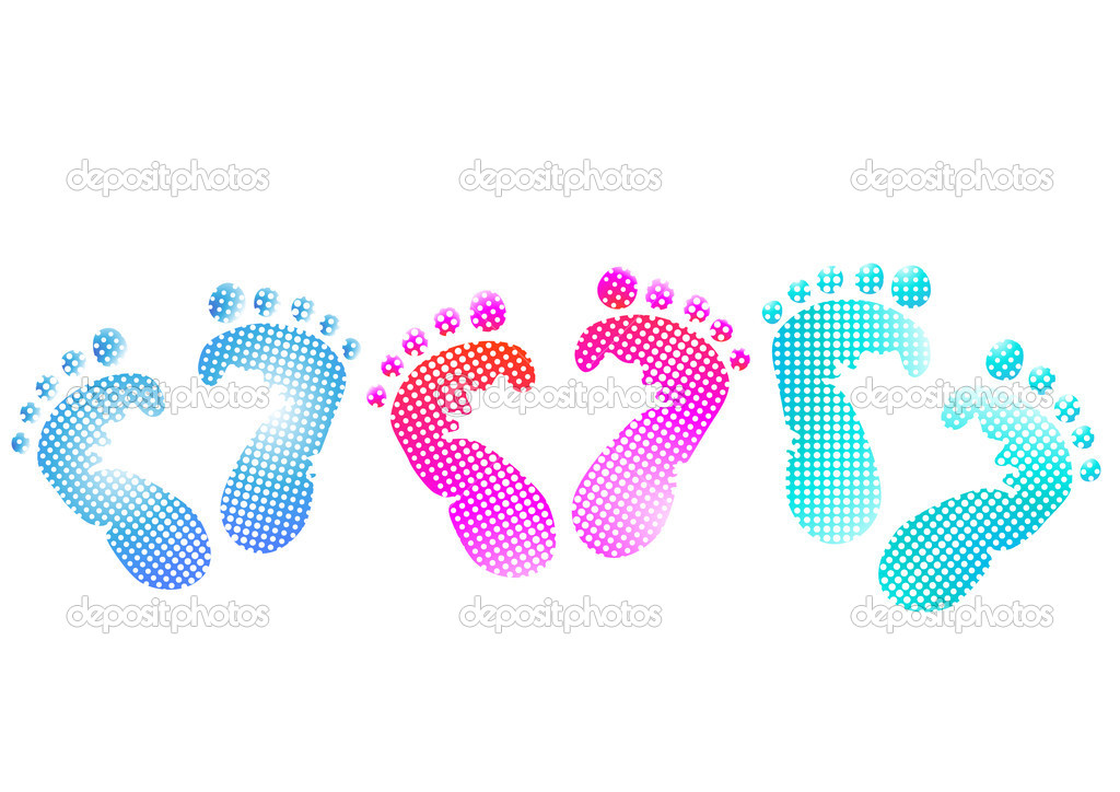 Baby Footprint Clipart http://depositphotos.com/3802918/stock-illustration-Baby-footprint.html