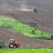 Stock Photo: Spring tillage