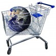 Stock Photo: Chopping cart