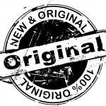 Rubber Stamp Original — Stock Vector
