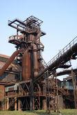 Steel tower — Stock Photo