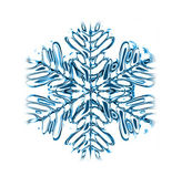 Abstract snow background — Stock Photo