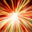 Explosion background — Stock Photo