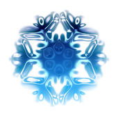 Snow flake — Stockfoto