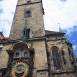 Prague clock tower — Stock Photo