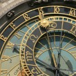 Detail of old Prague clock — Stock Photo