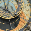 Detail of old prague clock — Stock Photo #3543672