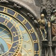 Detail of old prague clock — Stock Photo #3543677