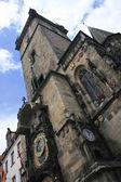 Prague clock — Stock Photo