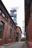 Coal mine tower — Stock Photo