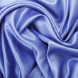 Royalty-Free Stock Photo: Blue satin background
