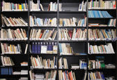 Sfondo biblioteca — Foto Stock