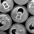 Empty cans — Foto Stock