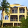 Tropical Beach Mansion - Stock fotografie