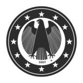 German Euro Coin — Stock Photo