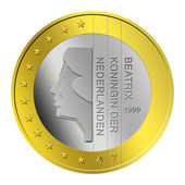 Dutch Euro Coin — Stock Photo