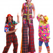 Clowns — Stock Photo