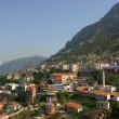 The city of Kruje, Albania — Stock Photo