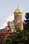 Sameba Cathedral, Tiblisi, Georgia — Stock Photo