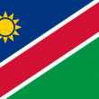 Stock Photo: NamibiFlag