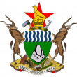 Zimbabwe coat of arms — Stock Photo