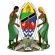 Tanzania Coat of Arms — ストック写真