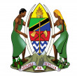 Tanzania Coat of Arms — Foto Stock