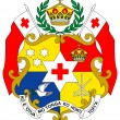 Tonga Coat of Arms — Stock Photo