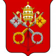 Vatican City Coat of Arms — Stock Photo