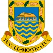 Tuvalu Coat of Arms — Stock Photo