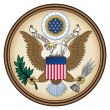 United States Great Seal — Stock Photo