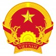 Vietnam Coat of Arms — Stockfoto