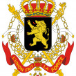 Belgium Coat of Arms — Stock Photo