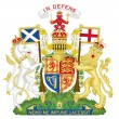 Постер, плакат: United Kingdom Coat of Arms