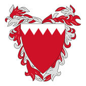 Bahrain Coat of Arms — Stock Photo
